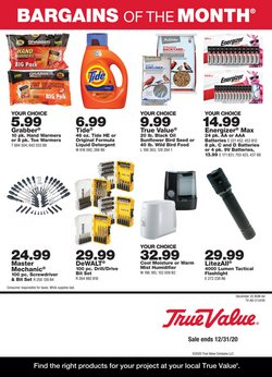 Tools & Hardware offers in the True Value catalogue in New York ( 3 days ago )