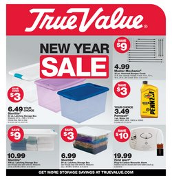 Tools & Hardware offers in the True Value catalogue in Montebello CA ( Expires today )