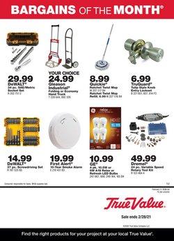 True Value catalogue ( Expired )