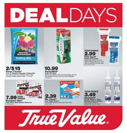 Tools & Hardware offers in the True Value catalogue in New York ( 22 days left )