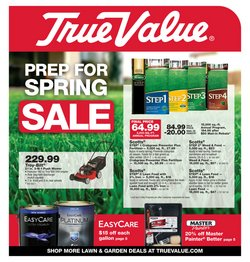 Tools & Hardware offers in the True Value catalogue in New York ( 8 days left )
