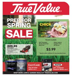True Value catalogue in Houston TX ( Expired )