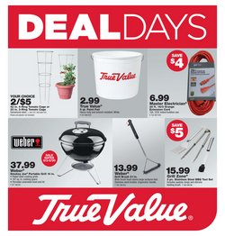 True Value catalog ( 19 days left)