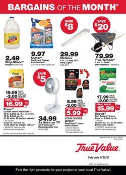 Tools & Hardware deals in the True Value catalog ( 6 days left)