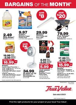 True Value catalog ( 9 days left)