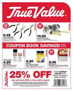 True Value catalog ( 11 days left)