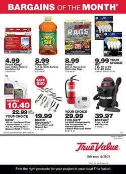 Tools & Hardware deals in the True Value catalog ( 9 days left)