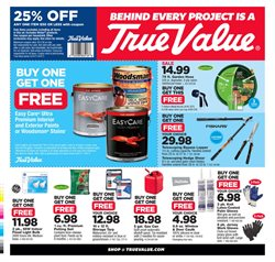 Tools & Hardware deals in the True Value weekly ad in Miami FL