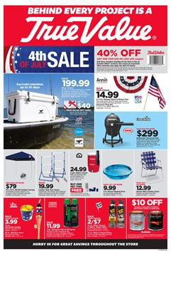 True Value deals in the Memphis TN weekly ad