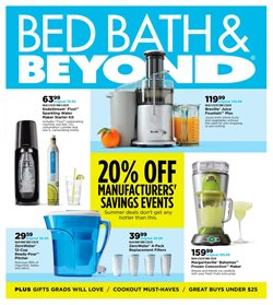Bed Bath & Beyond deals in the Minneapolis MN weekly ad