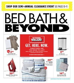 Home & Furniture deals in the Bed Bath & Beyond weekly ad in Bay City MI