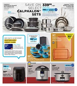 Calphalon deals in the Bed Bath & Beyond weekly ad in New York