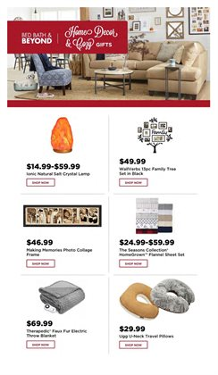 Lighting deals in the Bed Bath & Beyond weekly ad in Kent WA