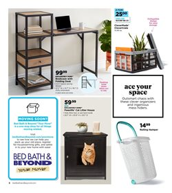 Storage deals in the Bed Bath & Beyond weekly ad in Bay City MI