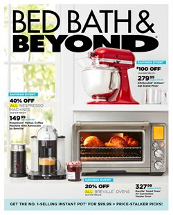 Home & Furniture deals in the Bed Bath & Beyond weekly ad in Flagstaff AZ