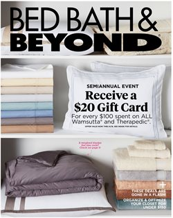 Bed Bath & Beyond deals in the Los Angeles CA weekly ad