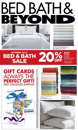 Bed Bath & Beyond catalogue ( Expires today )