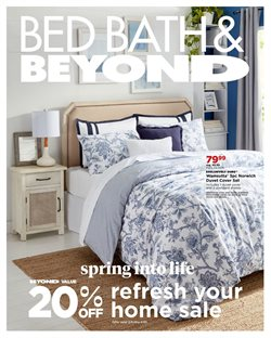 Bed Bath & Beyond catalogue in Pembroke Pines FL ( Expires tomorrow )