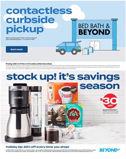 Donuts deals in Bed Bath & Beyond