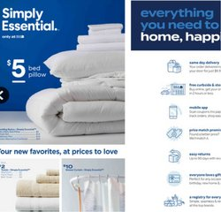 Home & Furniture deals in the Bed Bath & Beyond catalog ( More than a month)
