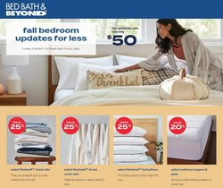Home & Furniture deals in the Bed Bath & Beyond catalog ( 2 days left)