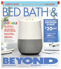 Bed Bath & Beyond deals in the Nashua NH weekly ad