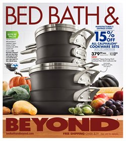 Bed Bath & Beyond deals in the Yorba Linda CA weekly ad