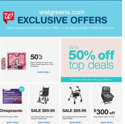 Makeup deals in the Walgreens weekly ad in Whittier CA