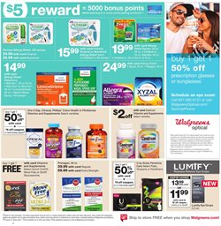 Optical items deals in the Walgreens weekly ad in Humble TX