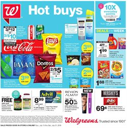 Detergent deals in the Walgreens weekly ad in Acworth GA
