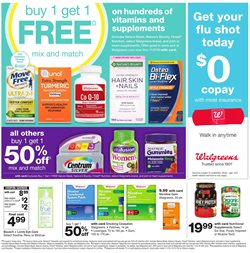 Saw deals in the Walgreens weekly ad in Tucson AZ
