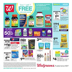 Walgreens deals in the Memphis TN weekly ad