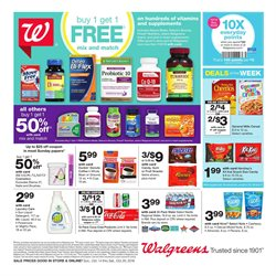 Clothing care deals in the Walgreens weekly ad in Yorba Linda CA
