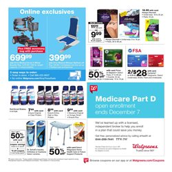 Oil deals in the Walgreens weekly ad in Lodi CA