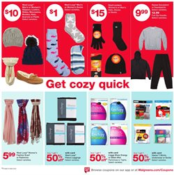 Socks deals in the Walgreens weekly ad in Dallas TX