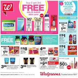 Walgreens deals in the Renton WA weekly ad