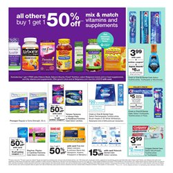 Toothpaste deals in the Walgreens weekly ad in Newark OH