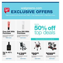 Skin care deals in the Walgreens weekly ad in Concord NC