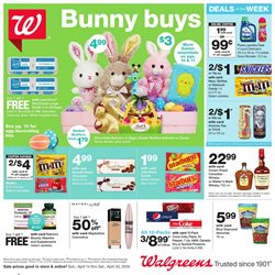 Grocery & Drug deals in the Walgreens weekly ad in Newark OH