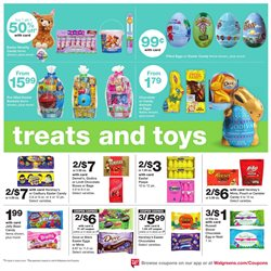 Mars deals in the Walgreens weekly ad in Concord CA
