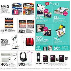 Headphones deals in the Walgreens weekly ad in Concord CA