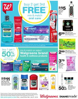 Walgreens deals in the Frederick MD weekly ad