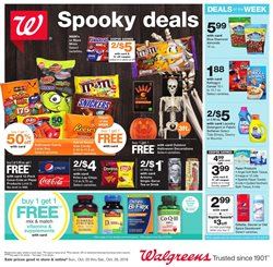 Walgreens deals in the Bethesda MD weekly ad