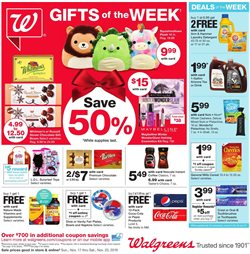 Walgreens deals in the Dallas TX weekly ad