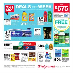 Walgreens deals in the Granbury TX weekly ad