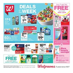 Walgreens catalogue ( Expires tomorrow )