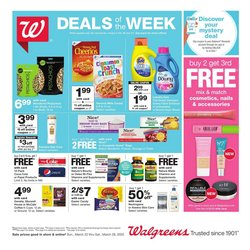 Grocery & Drug offers in the Walgreens catalogue in Joliet IL ( Expires today )