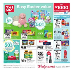 Walgreens catalogue in Laguna Niguel CA ( Expires today )