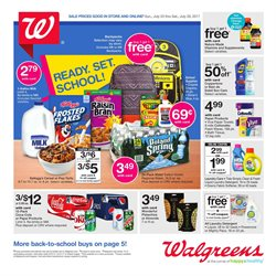 Walgreens deals in the Cleveland OH weekly ad