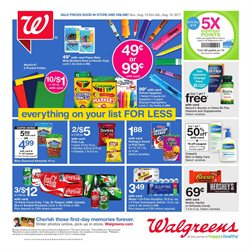 Walgreens deals in the Valparaiso IN weekly ad